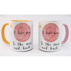 Tasse i love you to the...